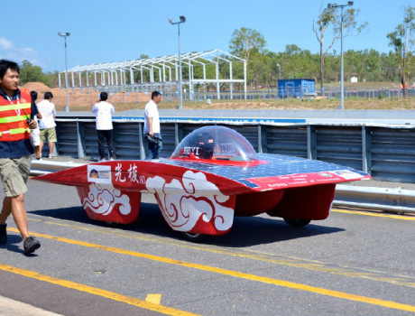 Solar Powered Race Car